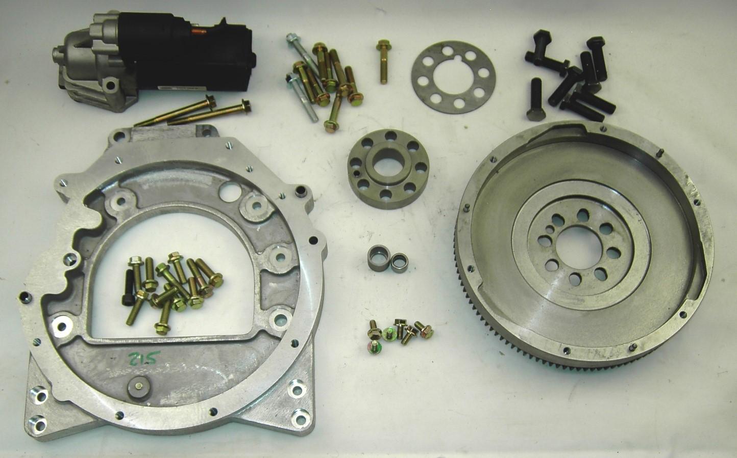 Kit 215, LR 300Tdi engine to 6 speed MT82 gearbox